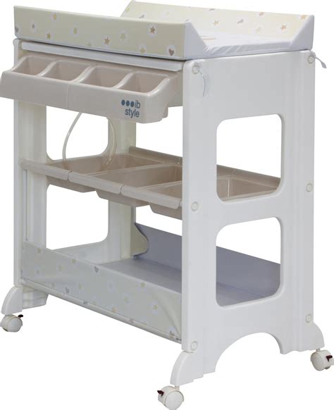 Changing Table Bath Changing Table Bath 4 Decors Storage Bath Tub Unit Baby Ebay