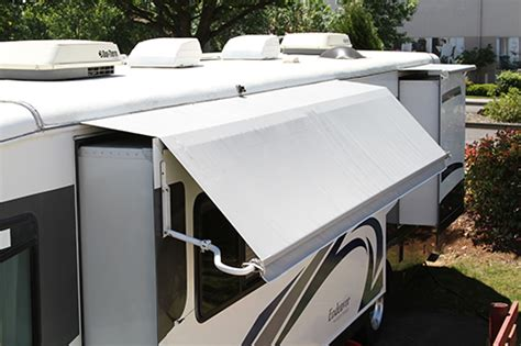 slide awnings combo slide cover and awning forest river forums