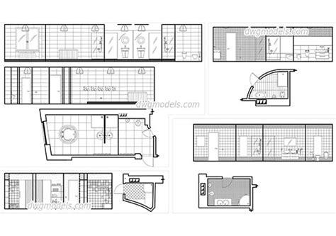 interiors dwg models free