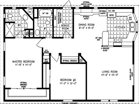 floor plan 1000 square foot house 1000 sq ft home floor plans 1000 square foot modular home
