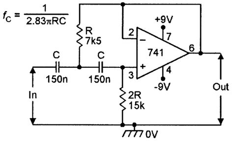 high pass filter voltage gain op cookbook part 2 nuts volts magazine for the electronics hobbyist