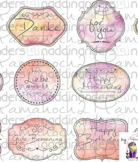 Etiketten Englisch by Die Besten 25 Danke Etiketten Ideen Auf Danke