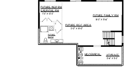 floor plans with basement delightful keystone house plan house delightful sunroom 73273hs architectural designs