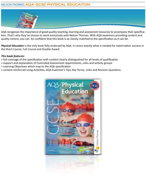 aqa gcse physical education 0198370253 教學資源 aqa gcse physical education