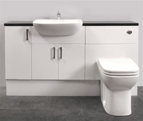 fitted bathroom furniture ideas fitted bathroom furniture white gloss with regard to