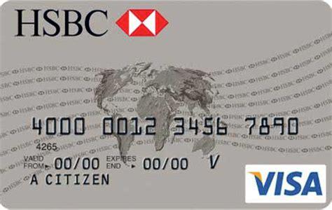 Credit Card Number Format Uk Tarjeta De Credito Hsbc
