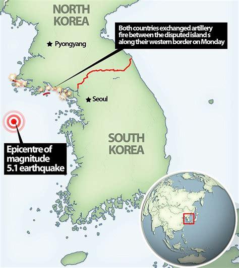 earthquake korea 5 1 earthquake hits off the coast of seoul koogle tv
