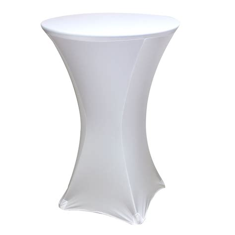 spandex fitted stretch table cover for 30 cocktail table