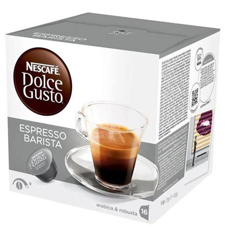 Nescafe Dolce Gusto Capsule Espresso Intenso 16s 16 capsule nescaf 233 dolce gusto espresso breakshop
