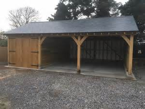 Garage Interiors Joy Studio framed three bay garage bristol oak porch kit form oak garage