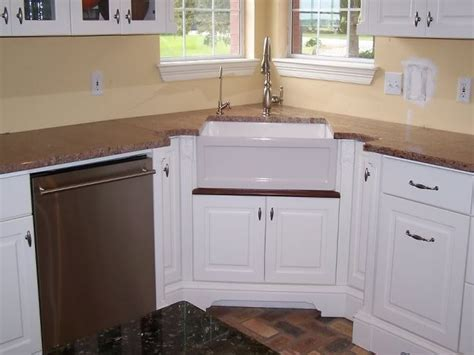 kitchen sinks corner style corner farmhouse sink interior designs