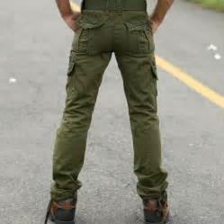 mens military style cargo pants white pants 2016