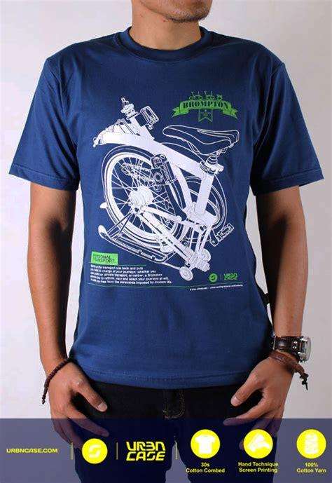 T Shirt Kaos Print Umakuka Idr 20 000 brompton tshirt folding bike