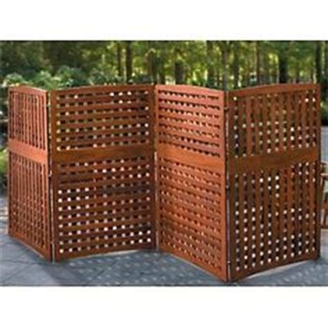 Portable Trellis Screen Privacy Trellis On Privacy Screens Deck