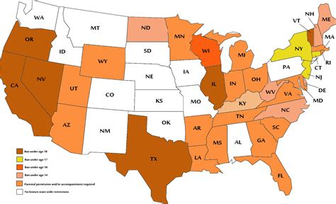 tanning bed laws by state teen tanning bans grow across u s but opposition remains