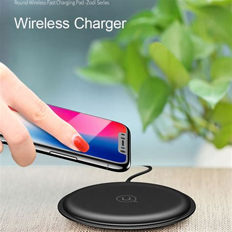 Wifi Speedy Per Bulan 2018 usams qi wireless charger fast charging 5v2a for smartphone black jakartanotebook