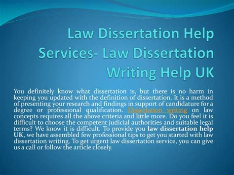 dissertation help ppt get dissertation writing help services by uk