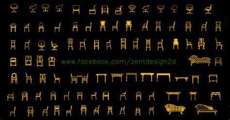 Modern Recliner zent design 2d chairs sillas dwg