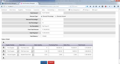 form design for inventory management system php stock inventory management system pos kumpulan
