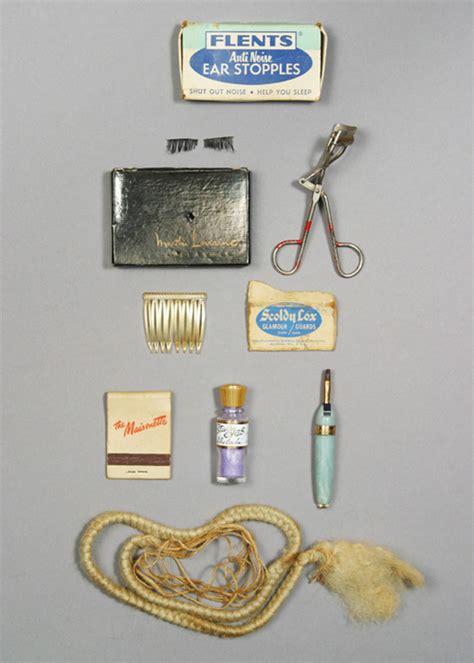 Makeup Vanity Case Les Produits De Beaut 233 F 233 Tiches De Marilyn Monroe Vanity