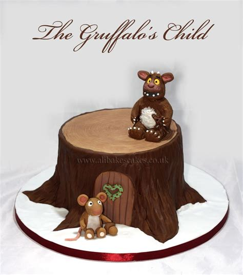 the gruffalo s child inspired christmas cake tayler s