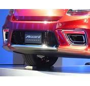 Honda Accord Coupe Concept Live Photos 2012 Detroit Auto