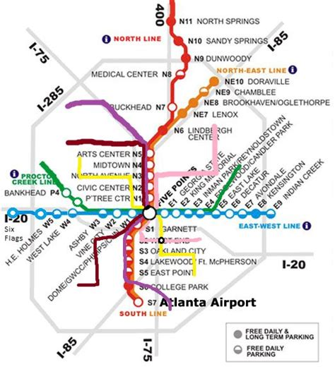 marta map atlanta marta station atlanta map possible future marta