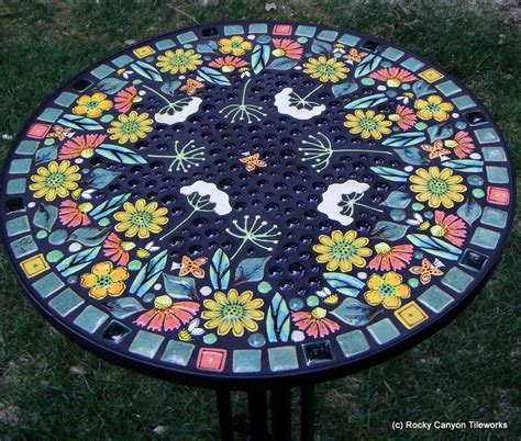 Handmade Mosaic - 17 best images about table stool mosaic inspiration on