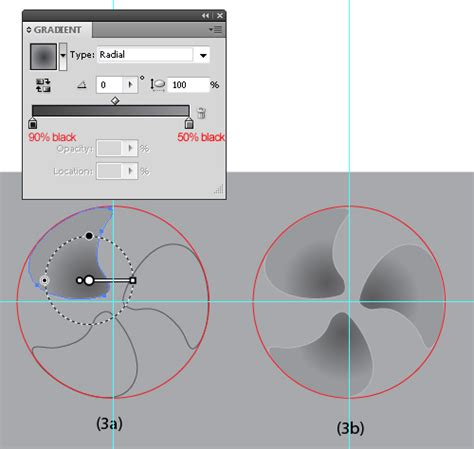 vector gradient tutorial illustrator tutorial how to create a vector fan