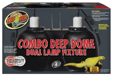 zoo med combo dome dual l fixture zoo med combo dome dual l fixture for sale