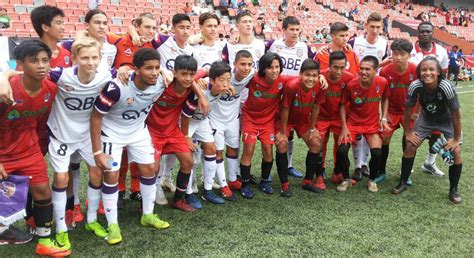 mfc young football players snatch silver medal  singapore