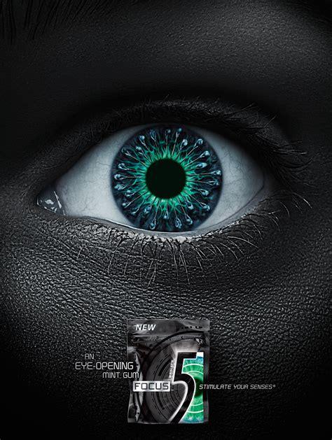 Wrigley's 5 Gum Focus: An Eye-Opening Mint Gum | Gute Werbung