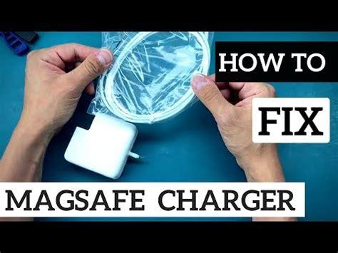how to fix your macbook pro charger macbook macbook air magsafe power adapter broken cabl