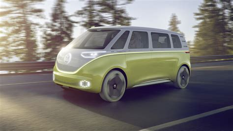 electric volkswagen van the volkswagen van is back it will be electric and self