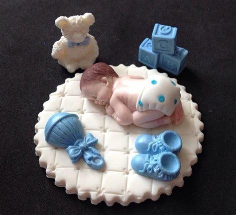Fondant Decke Baby Blau by Fondant Jungen Auf Wei 223 En Decke Kuchen Topper F 252 R Baby