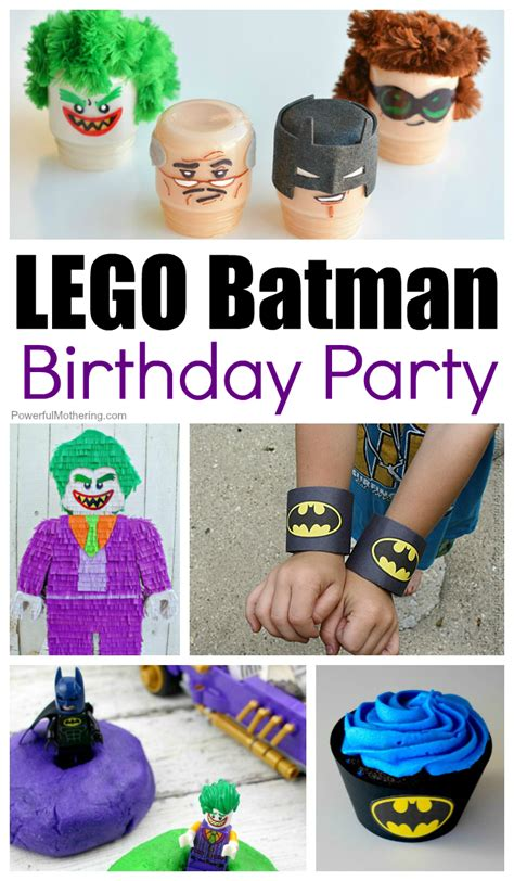 party tips 20 awesome lego batman birthday party ideas