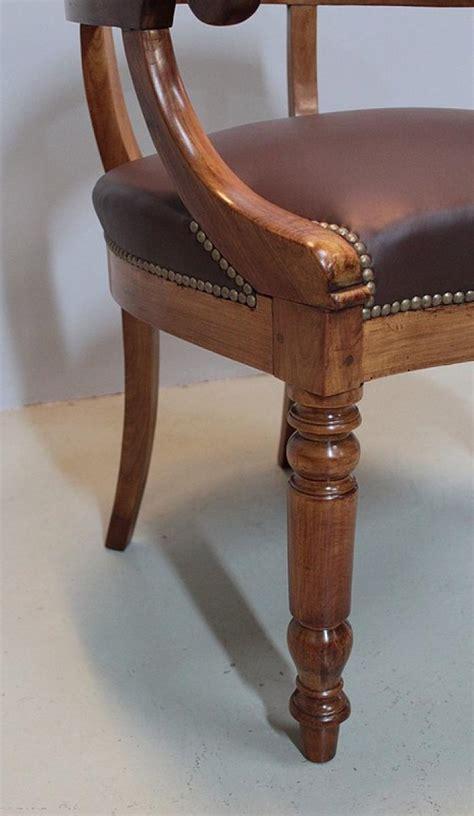 fauteuil de bureau louis philippe fauteuil de bureau louis philippe en merisier xixeme
