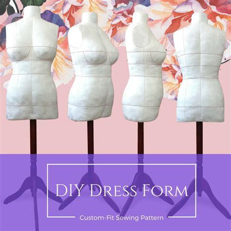 pattern review dress form diy dress form sewing pattern pdf designer sewing patterns