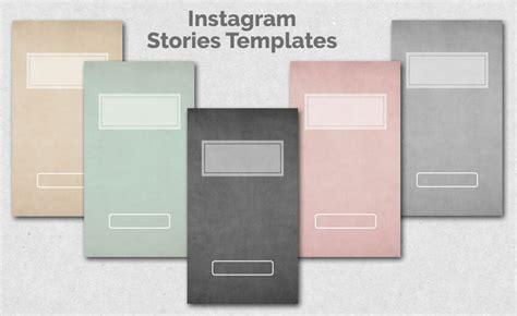 Instagram Stories Templates Miomodo Diy Blog How To Use Instagram Story Templates