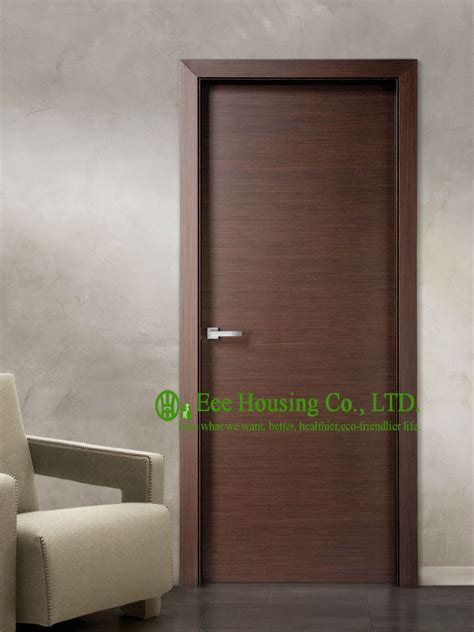Interior Wood Doors Manufacturers Aliexpress Buy Modern Flush Wood Door For Sale Walnut Veneer Interior Bedroom Door Design