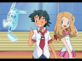 Pokemon ash and serena kiss fanfiction hey so i found these pictures