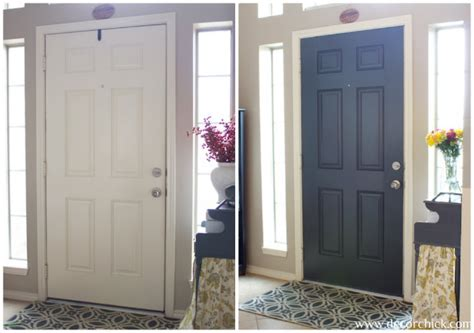 Painting Interior Doors Black Before And After More Painted Interior Doors Before And After Decorchick
