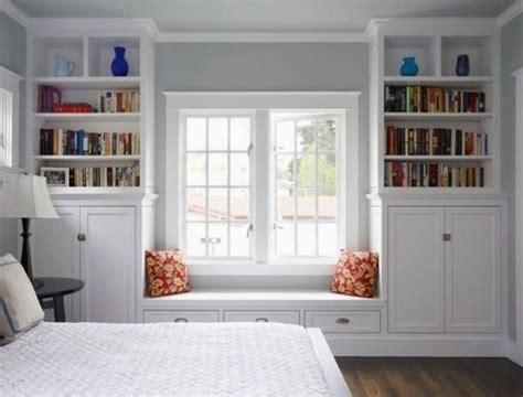 Built In Shelves In Bedroom by Bedroom Built In Book Shelves Bedrooms