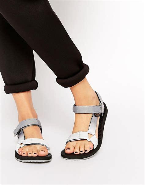 teva original universal sandal teva teva original universal grey gradient flat sandals