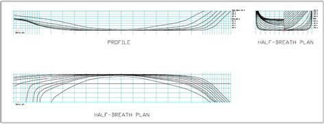 how to draw boat lines plan hull of a ship understanding design and characteristics