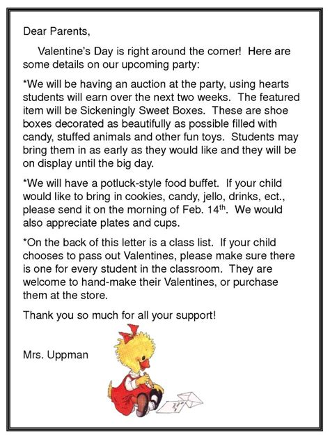 card exchange letter to parents 17 best images about valentines on valentines