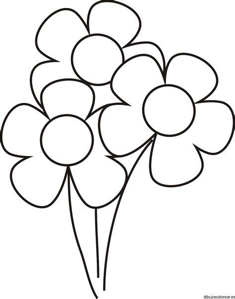 flores dibujos infantiles para colorear para ni 241 os y ni 241 as dibujos de flores