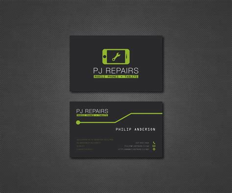 cell phone business card template cell phone repair business cards images business card