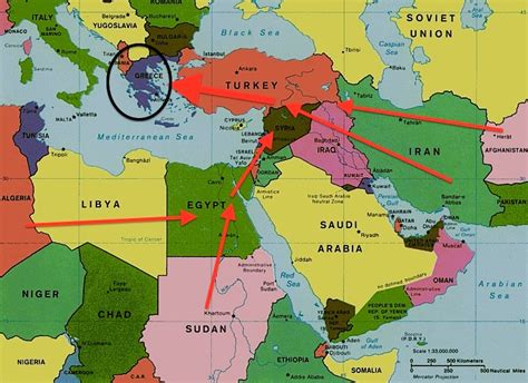 middle east map greece acrocenter org