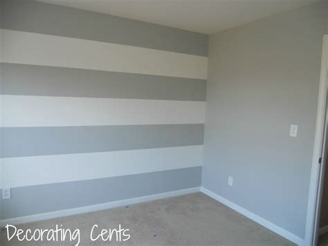 striped wall decorating cents painting a striped wall